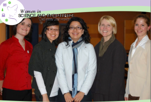 5 women in CS at Carelton Univ.