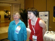Jessica Dickinson-Goodman with Fran Allen GHC 2007