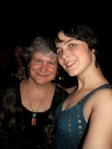 Katy Dickinson with daughter Jessie at GHC 2010